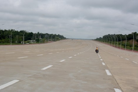 the 18-lane highway